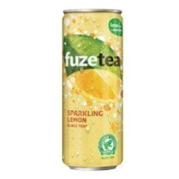 Fuze Tea Sparkl. Lemon 6x4X25CL Cans