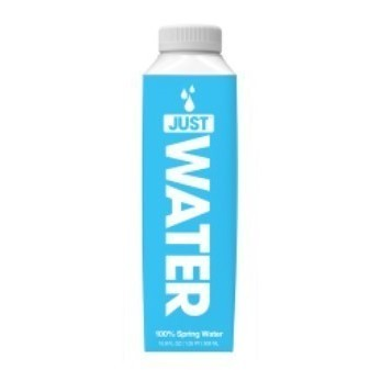 Just Water 100% Spring Water Tetra Pack 50cl x12