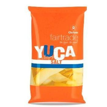 Yucachips zout 50g