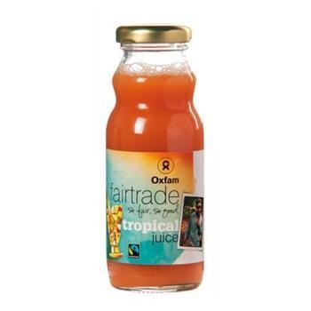 Tropical Juice Oxfam 20cl (Empty bottles + Crate)